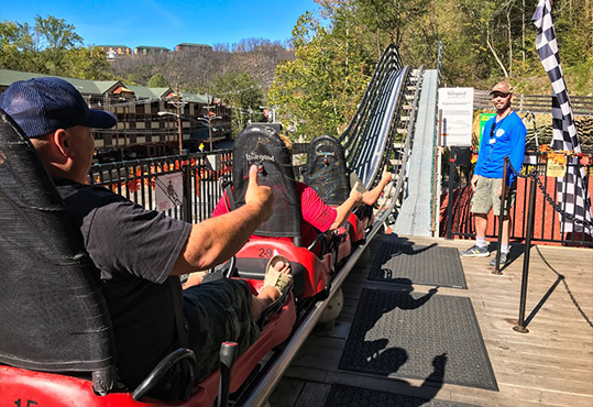 A Snapshot Video of the Coaster Ride